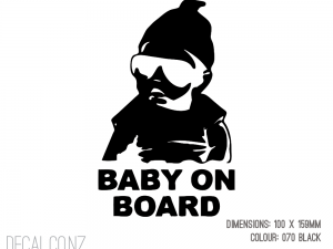 Gangster Baby On Board 3
